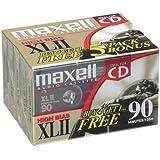 Xlii 90 High Bias Audio Cassette Tape -5-Pack