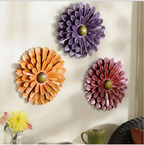 Flower Wall Décor (Red)
