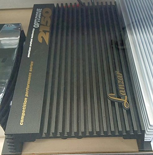 Lanzar OPTIDRIVE 2150 2 x 75 Watts RMS at 4 Ohms 2 Channel Amplifier 600W Max OLD SCHOOL