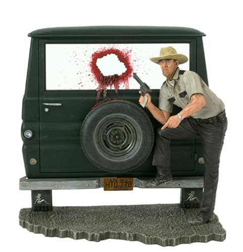 McFarlane Toys Movie Maniacs Series 7 Action Figure Texas Chainsaw Massacre Sheriff Hoyt