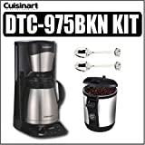 Cuisinart DTC-975BKN 12-cup Coffeemaker Black Plus Kit