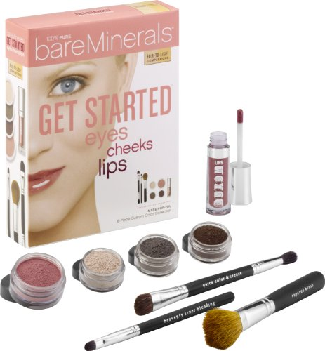 Get StartedTM: Eyes Cheeks Lips - Fair to Light
