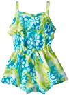 Youngland Baby-Girls Infant Tie Dye Skirted Romper