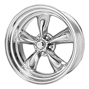 American Racing Hotrod VN5152865TORQ THRUST II 1 PC 20×8 5×114.30 POLISHED (0mm)