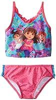 Nickelodeon Little Girls' Toddler Dora and Friends Tankini
