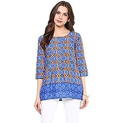 Akkriti by Pantaloons Womens Casual Kurta 205000005575152_PURPLE_M