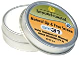 Beyond Coastal Natural Lip and Face Screen (0.9-Ounce)