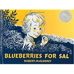 By Robert McCloskey: Blueberries for Sal (Viking Kestrel picture books)