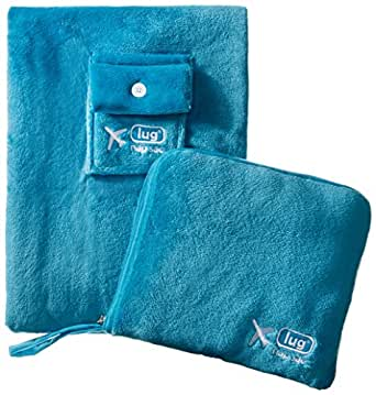 Lug Nap Sac Blanket and Pillow Teal,