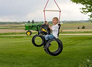 Amazon.com: Tractor Ride 'N Tire Swing Recycled Tire Swing: Toys