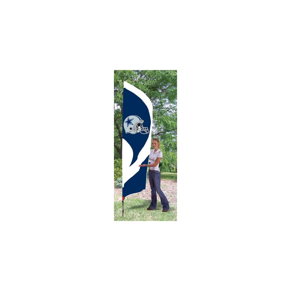 Dallas Cowboys NFL Tall Team Flag W/Pole