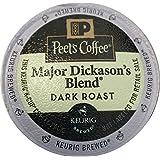 Peet's Coffee Major Dickasons Single Cup Capsule, 96-Count