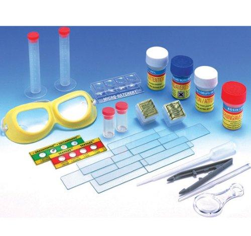 Make Your Own Microscope Slides - Elenco Slide Preparing Kit