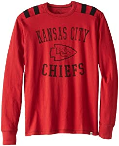 NFL Kansas City Chiefs Mens Bruiser Long Sleeve Tee by