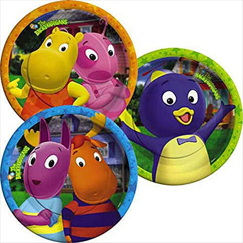Backyardigans Small Paper Plates (8ct)