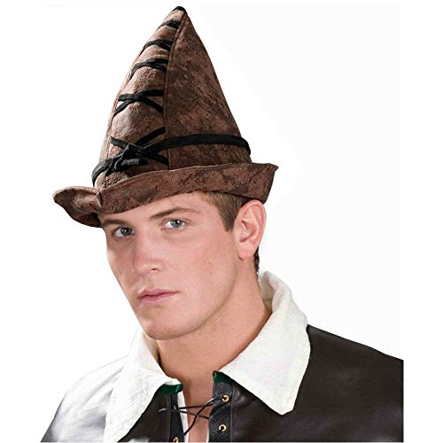 Deluxe Robin Hood Brown Hat