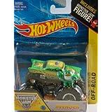 Avenger Monster Jam Off Road Truck By Hot Wheels 1:64 With Monster Jam Figure