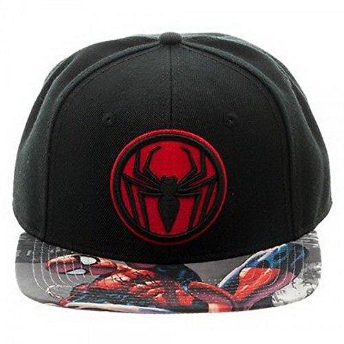 HHBH032 Baseball Cap - Marvel Spiderman - Miles Sublimated Bill Snapback