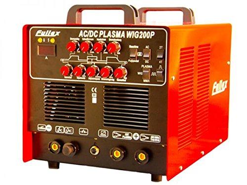 AC-DC-WIG-200-Puls-mit-Plasmaschneider-ALUMINIUM-STAHL-EDELSTAHL-KUPFER-MIT-ALU-PULSFUNKTION