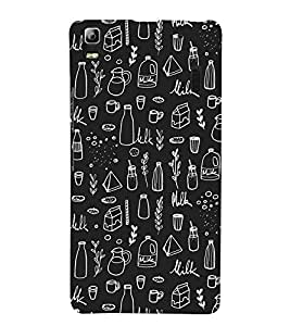 99Sublimation bottle and Cold rink 3D Hard Polycarbonate Back Case Cover for Lenovo A7000, Lenovo A7000 Plus, Lenovo K3 Note