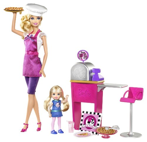Barbie I Can Be... Pizza Chef Doll and Playset (Barbie I Can Be Dolls compare prices)