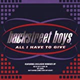 Backstreet Boys All I Have to Give [CD 2] [CD 2]