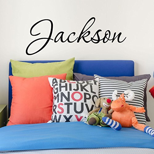 Boys Nursery Personalized Custom Name Vinyl Wall Art Decal Sticker 28