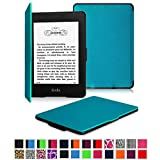 Fintie Kindle Paperwhite SmartShell Case - The Thinnest and Lightest Leather Cover for Amazon Kindle Paperwhite (Both 2012 and 2013 Versions with 6