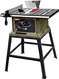 Rockwell RK7240.1 10-Inch 13 Amp Table Saw with Stand