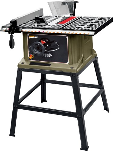 Rockwell RK7240.1 Shop Series 13 Amp 10-Inch Table Saw with Stand