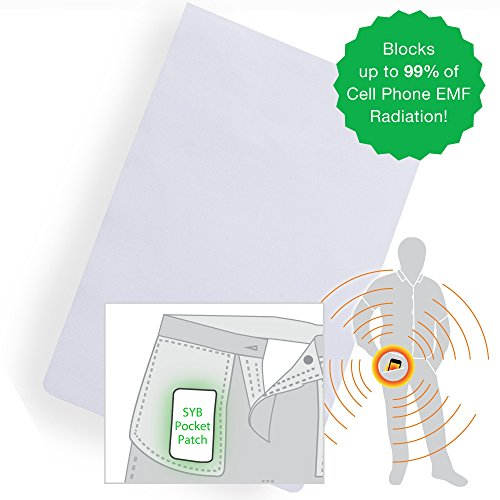 SYB Pocket Patch, Cell Phone EMF Protection Shield, 3-Pack