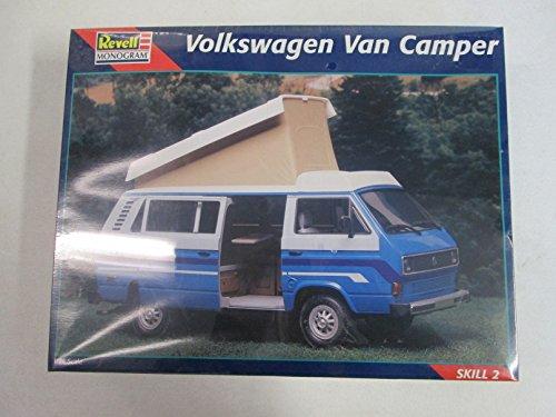Revell Monogram Volkswagen Van Camper 1:24 Model Kit (Camper Model Kits compare prices)
