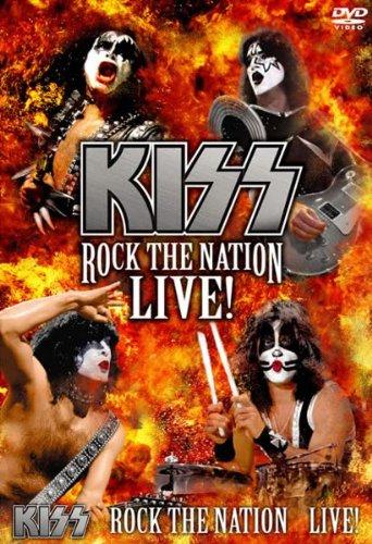 地獄の狂宴 ROCK THE NATION LIVE! KISS(2枚組) [レンタル落ち]