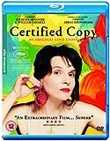 Certified Copy [Blu-ray] [Import]