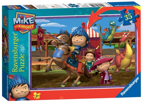 Mike The Knight: Mike's Adventures Puzzle, 35-Piece