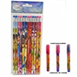 Disney Tinkerbell Pencils 12 and 1 Eraser
