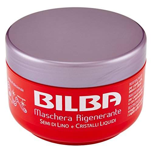 Bilba - Maschera Rigenerante, Semi di Lino e Cristalli Liquidi, 400 ml