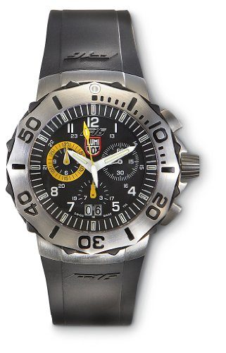 Luminox F – 16 Navy SEAL Chronograph Watch Black / Yellow