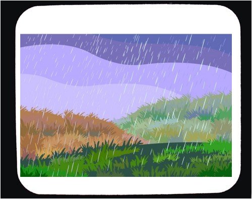 Buy Mouse Pad with grass, rain, storm