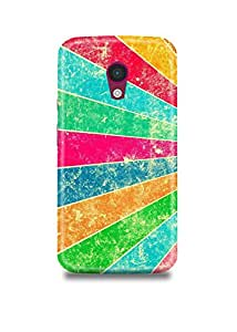 Colorful Pattern Moto G2 Case