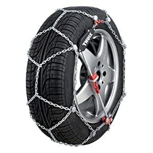 Thule 9mm CG9 Premium Passenger Car Snow Chain, Size 104 (Sold in pairs)