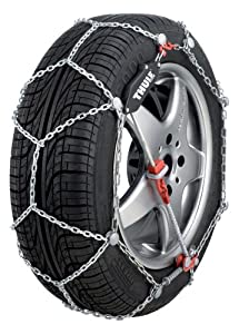 Thule 9mm CG9 Premium Passenger Car Snow Chain, Size 103 (Sold in pairs) by Thule