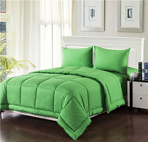 Neon Green Bedding back-995682