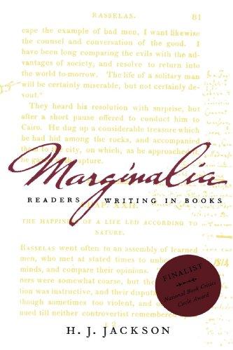 Marginalia: Readers Writing in Books