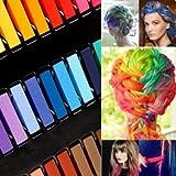 Boolavard 24 Colores no tóxicos Pelo temporal tiza del tinte Soft Pastels Salon Kit Nuevo