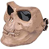 Pixnor@ M02 Protective Skeleton Warriors Mask Motorcycle Safe Gear 5 Color (Skeleton)