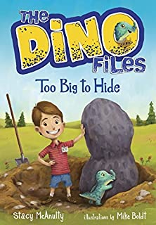 Book Cover: The Dino Files #2: Too Big to Hide