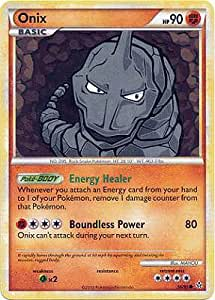 Legend HS2 Unleashed Single Card Onix #56 Common [Toy]: Toys & Games