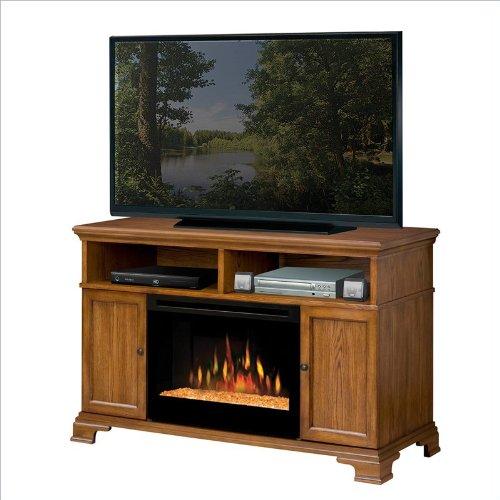 Dimplex Brookings Electric Fireplace Media Console in Dark Oak image B005P0PFD2.jpg