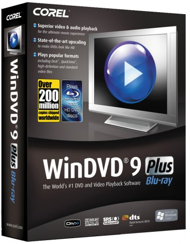 Corel WinDVD 9 Plus (Blu-ray) [OLD VERSION] (Corel Windvd compare prices)